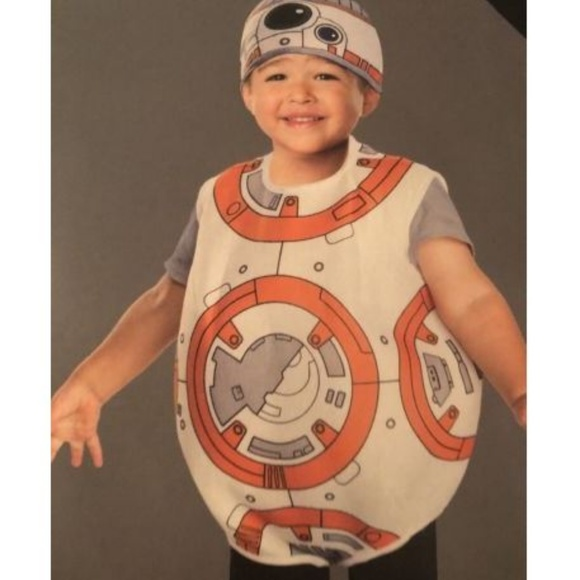 Disney Other - Star Wars BB-8 Child Costume Sz 2T-3T Toddler